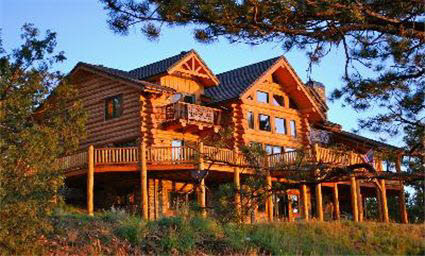 Custom log homes in pagosa springs ute country homes Country log home