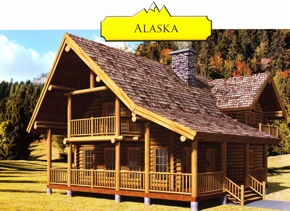 local cabins were everything the alaskan sale creek in with construction deck alaska for log countertops about saplings rocks a built from land cabin came just