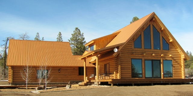 Turn Key Log Home