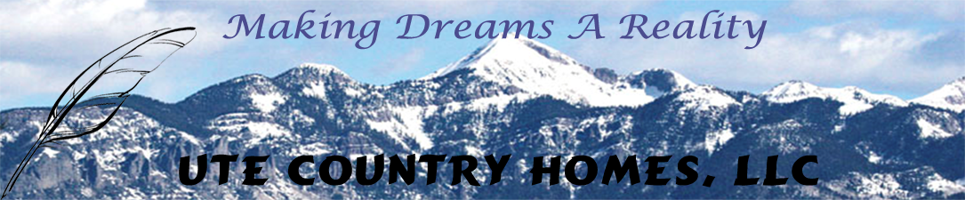 Custom Handcrafted & Milled Log Homes | Ute Country Homes